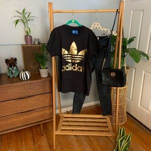 Adidas Gold Foil Tee